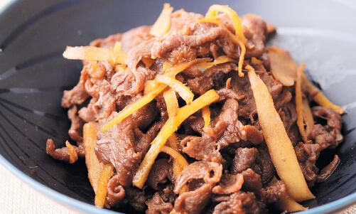 鹿肉のしぐれ煮