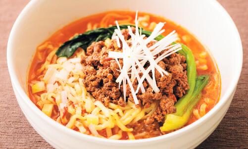 鹿肉坦々麺